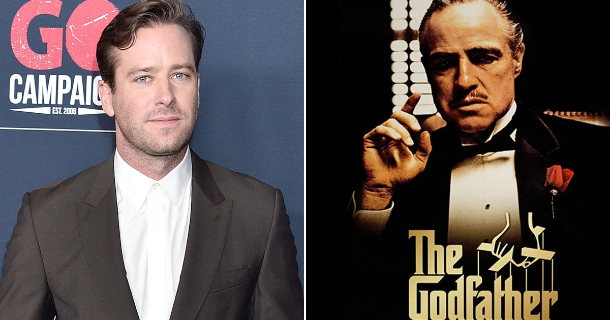 Armie Hammer out of series on making of 'The Godfather'