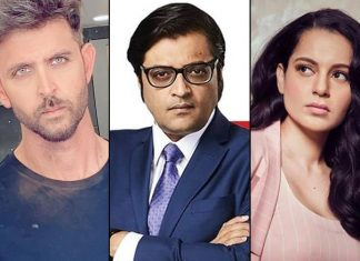 Arnab Goswami's Alleged Leaked Chats Go Viral, A Message Says That Kangana Ranaut Is S*xually Possessed With Hrithik Roshan