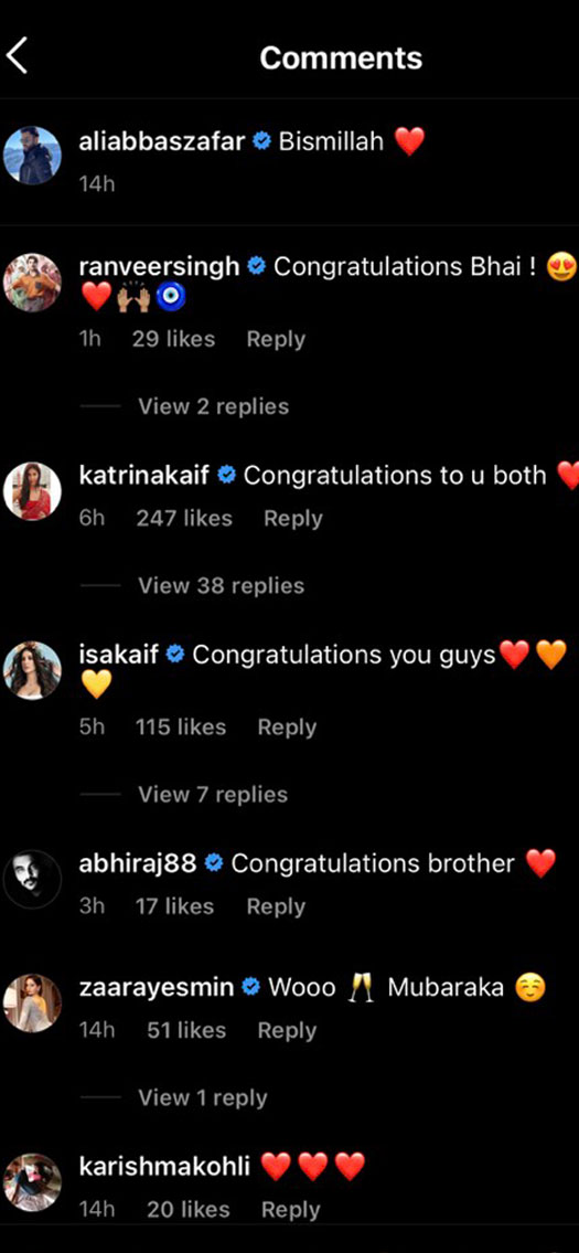 Bharat Director Ali Abbas Zafar Ties The Knot, Ranveer Singh & Katrina Kaif Congratulate The Couple