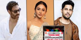 Bhushan Kumar, Indra Kumar and Ashok Thakeria's much awaited 'Thank God', has begun its shoot from today in Mumbai
