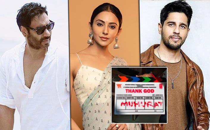 Bhushan Kumar, Indra Kumar and Ashok Thakeria's much awaited 'Thank God', has begun its shoot from today in Mumbai