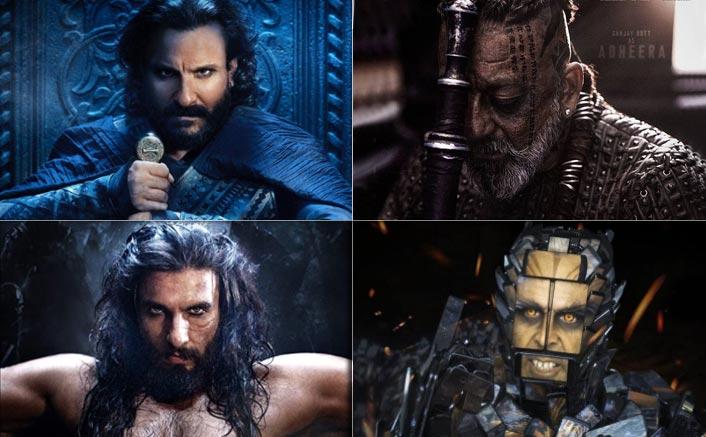 Sanjay Dutt To Ranveer Singh - Big Bollywood heroes go bad on screen