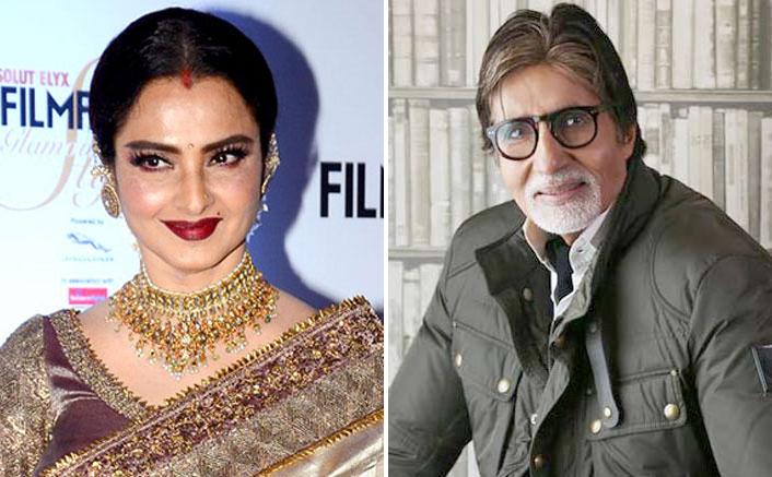 Rekha, Amitabh Bachchan & Jaya Bachchan In A Still From Silsila