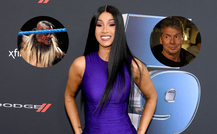Cardi B Threatens WWE Head Vince McMahon For Her Creepy Intro
