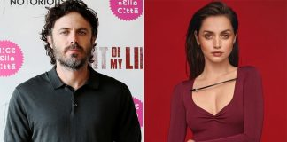 Casey Affleck says he didn't throw out Ana de Armas cutout
