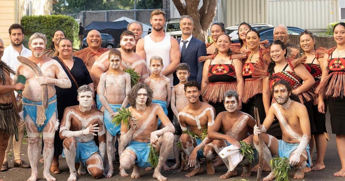 Chris Hemsworth shoots 'Thor: Love And Thunder' in home turf Australia