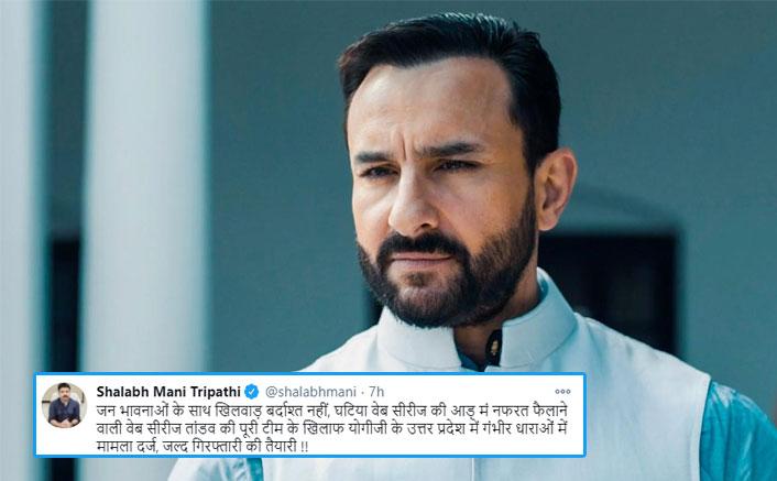 Tandav: Makers Of Saif Ali Khan Starrer Told To Be 'Prepared For Arrest' By Yogi Adityanath's Legal Advisor