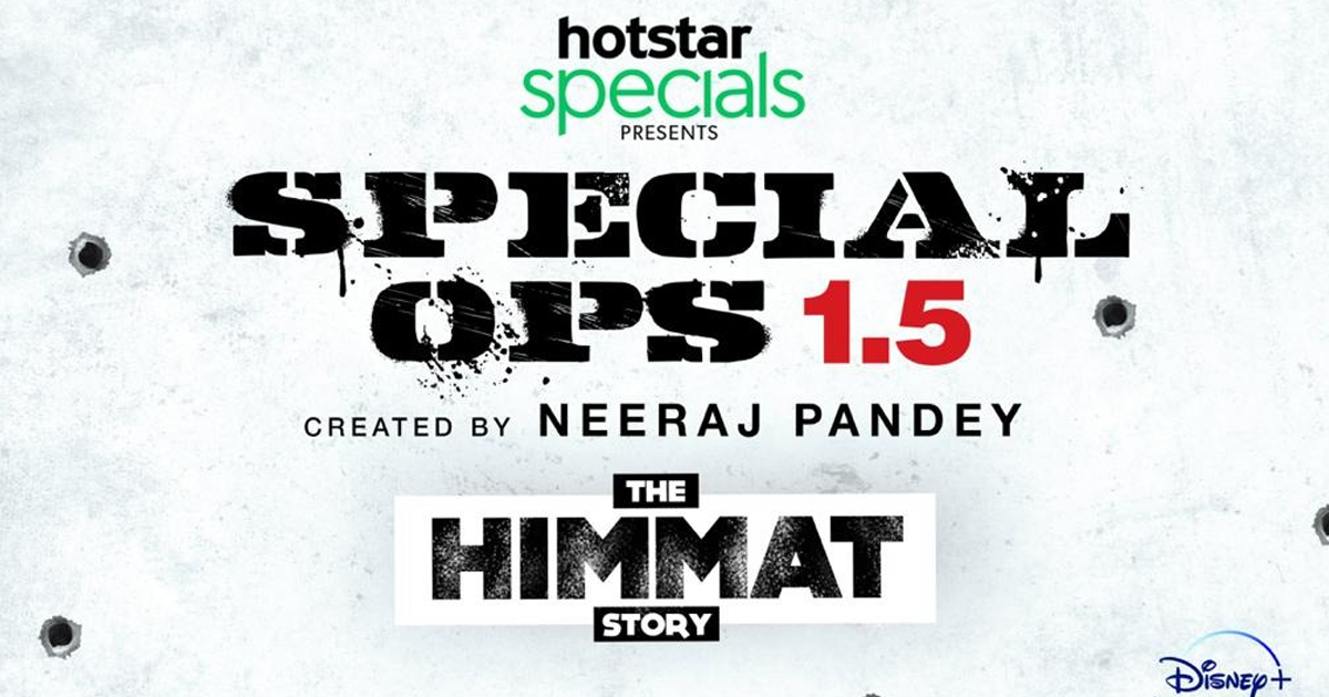 Disney+ Hotstar VIP and Neeraj Pandey announce the creation of 'Special Ops Universe' - a first ever multi-series for India; Kay Kay Menon returns as Himmat Singh in Special Ops 1.5