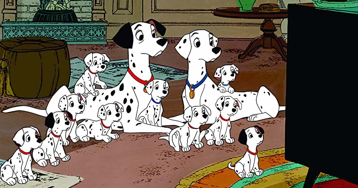 Perdita Become The Adoptive Mother Of 84 Puppies In One Hundred And One Dalmatians