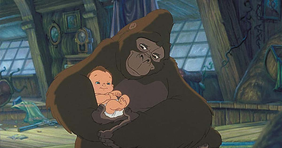 Kala Adopted Tarzan & Raised Him As Her Own