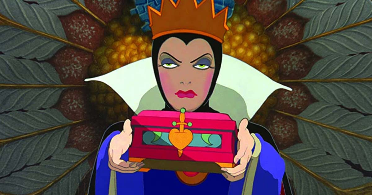 Queen Grimhilde Was Snow White's Adoptive Mother Who Wanted Her Heart