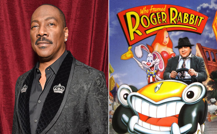 Eddie Murphy & The Poster Of Who Framed Roger Rabbit