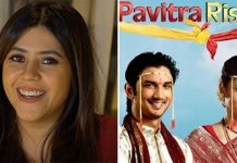 Ekta Kapoor remembers Manav of 'Pavitra Rishta' on Sushant's birth anniversary