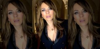 "Elizabeth Hurley Breaks Silence On Viral Topless Pics: ""Pics Were Taken By My 80-Year-Old Mother"""
