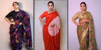 Florals, Lines & Patterns! 7 Times Vidya Balan Showed Us How Elegant Printed Sarees Can Look
