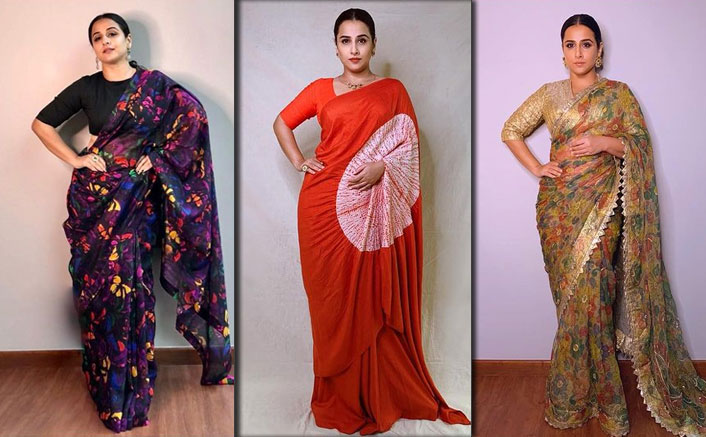 Florals, Lines & Patterns! 7 Times Vidya Balan Showed Us How Elegant Printed Sarees Can Look