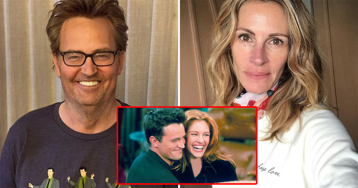 Friends: Matthew Perry Faxed Julia Roberts Quantum Physics Papers To Get Her On Board