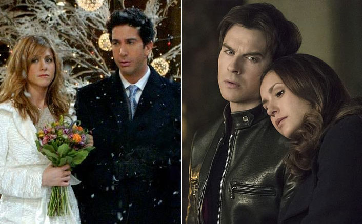 FRIENDS' Ross Geller-Rachel Green & TVD's Damon Salvatore-Elena Gilbert Are Just A Couple Of Toxic Couples On American Shows