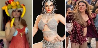 From A Fruit Hat To A Shiny Purple Shorts, 3 Rakhi Sawant Outfits That We Dare You To Wear
