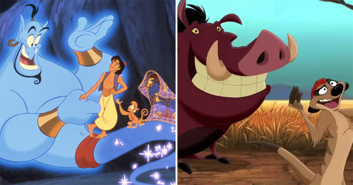 Disney Sidekicks Have A Special Place In Our Hearts - Abu, Genie, Timon, Pumbaa & More Are Examples!