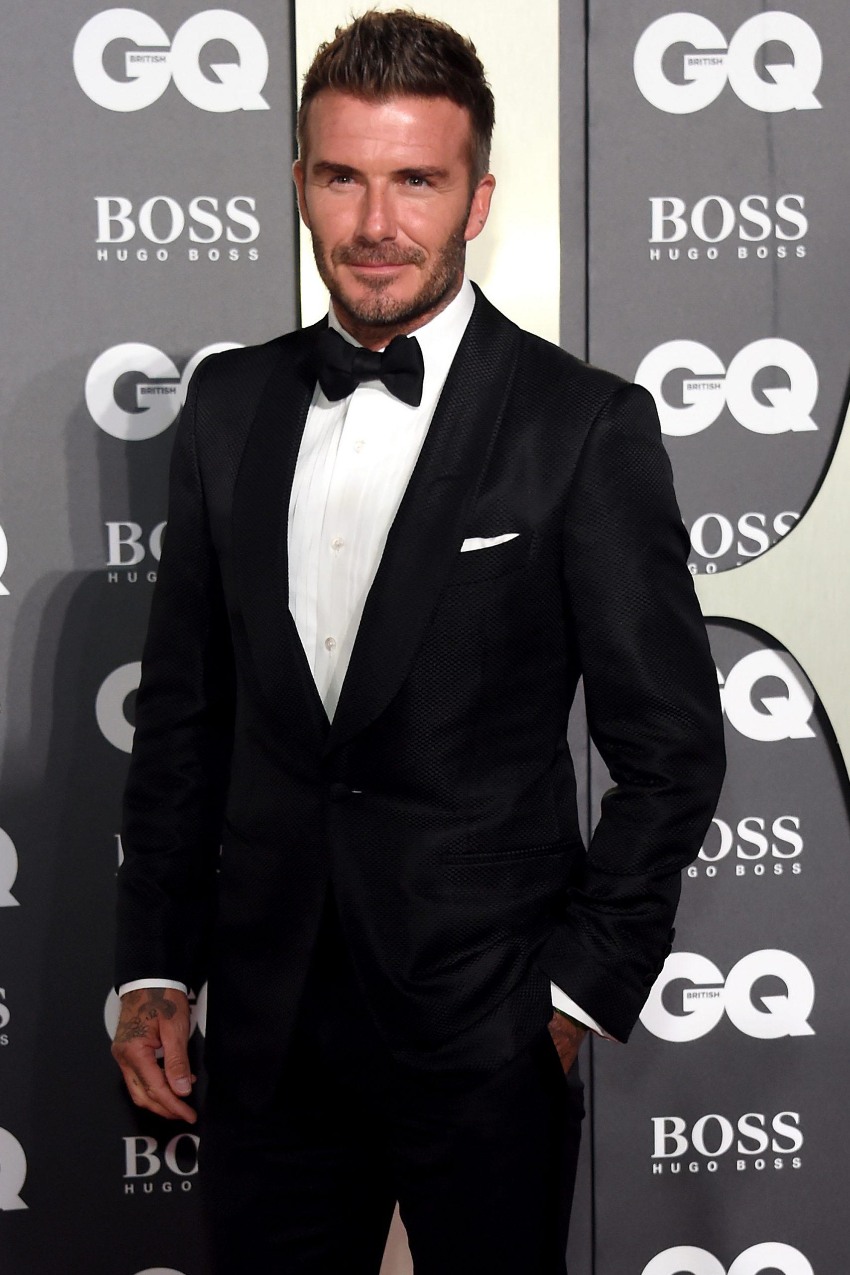 David Beckham - Botox With Snake Venom