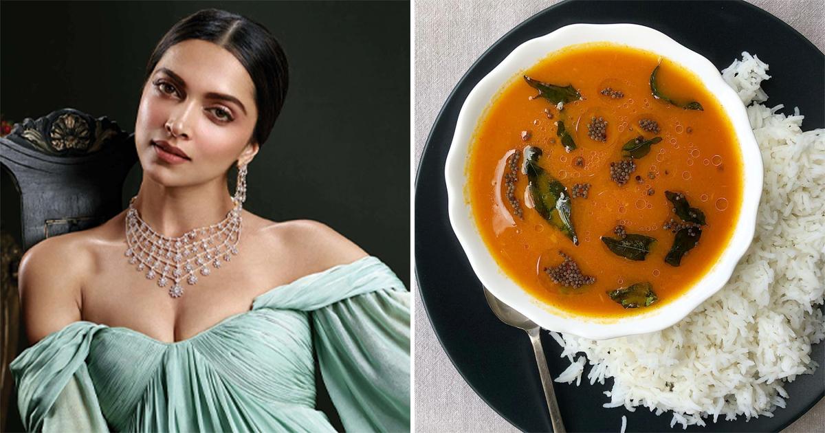 Deepika Padukone - Rasam Rice