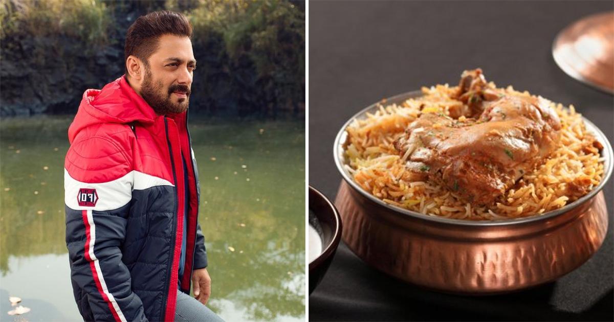 Salman Khan - Chicken Biryani