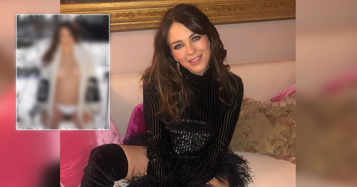 Gossip Girl Beauty Elizabeth Hurley Shares A Jaw-Dropping Topless Pic Amid The Snow, See Pic