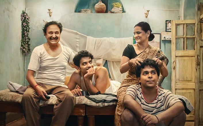 Jameel Khan, Vaibhav Raj Gupta, Geetanjali Kulkarni and Harsh Mayar In A Still From Gullak Season 2