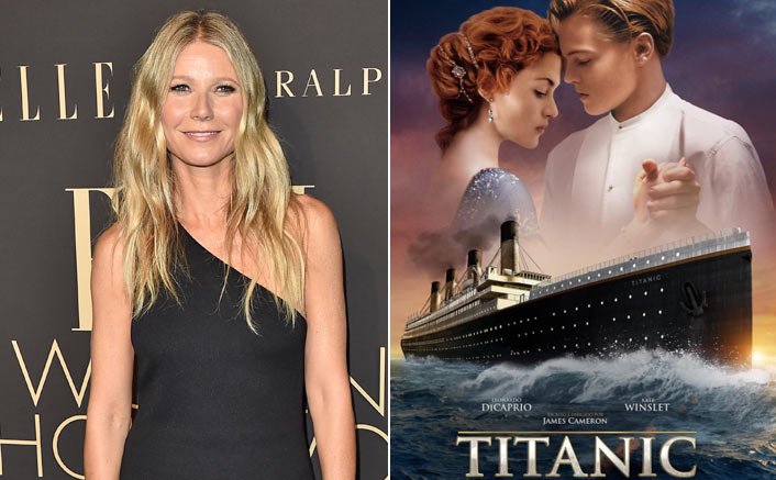 Gwyneth Paltrow & The Poster Of Titanic