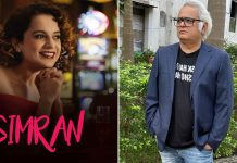 Hansal Mehta thinks 'Simran' was a mistake