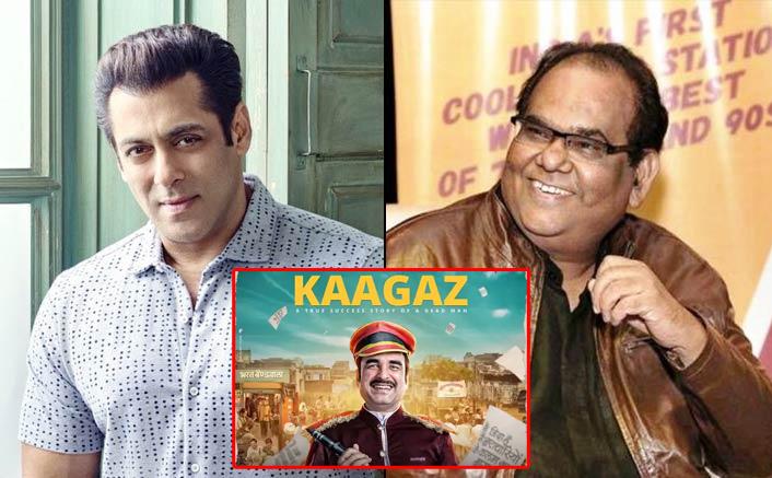 Here's What Satish Kaushik Has To Say About Salman Khan Coming On Board For Pankaj Tripathi Starrer Kaagaz