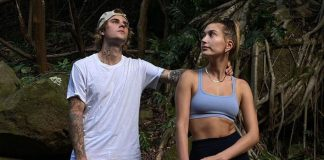 Shirtless Justin Bieber & Bikini-Clad Hailey Baldwin Share A Steamy Kiss Amidst The Waters, See Pic