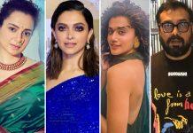 Kangana Ranaut Hits At Deepika Padukone, Taapsee Pannu & Anurag Kashyap Again, Calls Them 'Filmy Clowns'