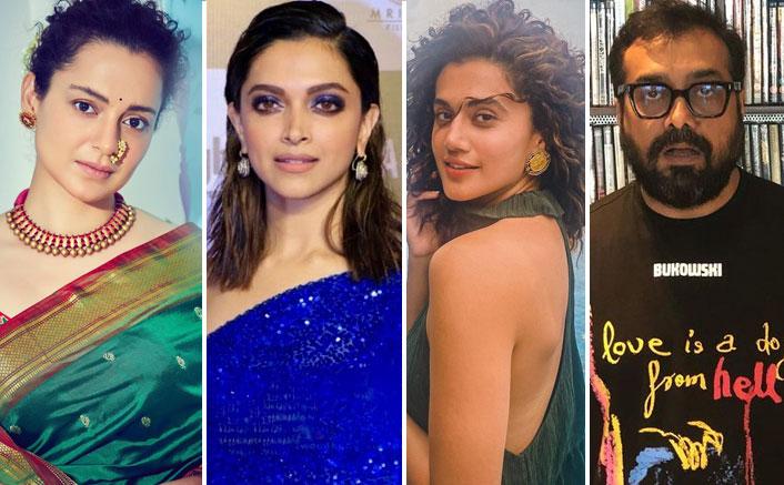 Kangana Ranaut Targets Deepika Padukone, Taapsee Pannu & Anurag Kashyap Again