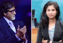 KBC 12: Amitabh Bachchan Criticized For His 'Beautiful Face' Comment On IMF Chief Gita Gopinath