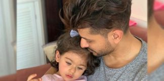 Kunal Kemmu does his 'Daddy duties' well