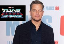 Matt Damon Joins Thor: Love And Thunder, Under 14-Day Quarantine In Australia Ahead Of The Shoot