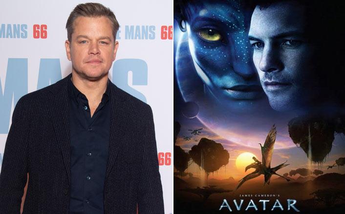 Matt Damon & The Poster Of Avatar