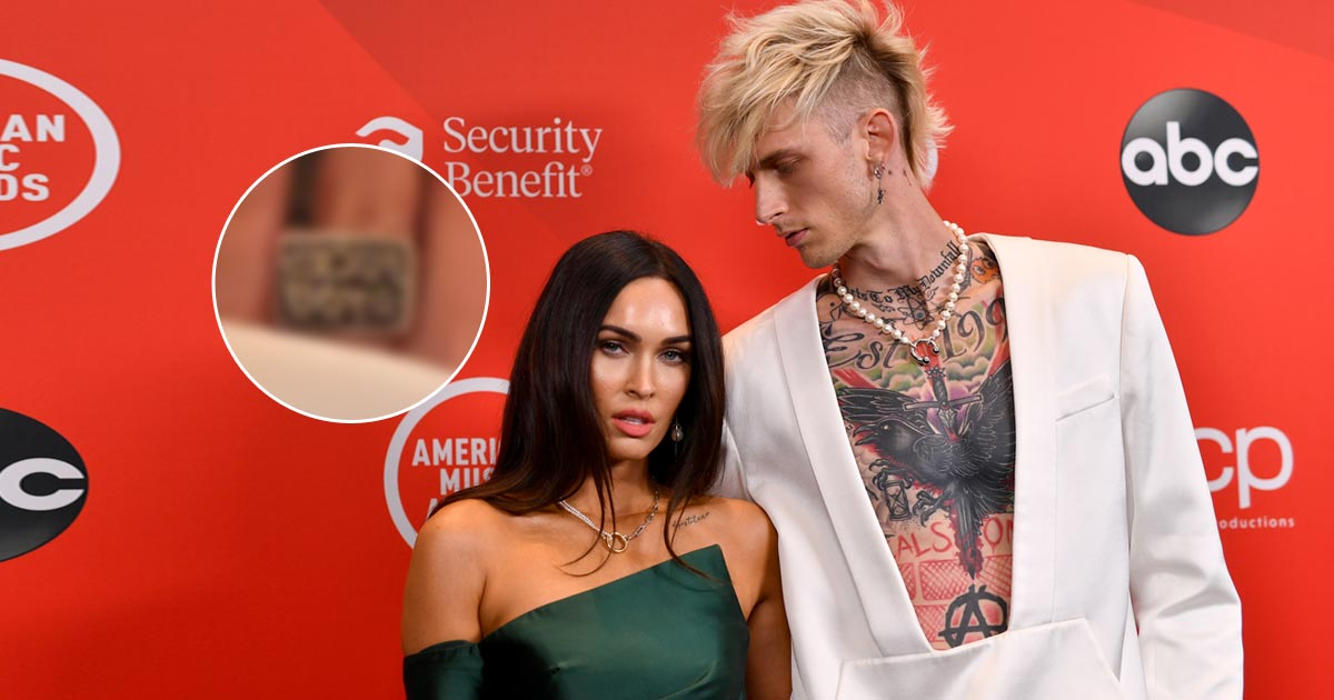 Megan Fox & Machine Gun Kelly Aren't Engaged; Actress Shares A Glimpse Of The Ring