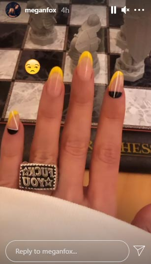 Megan Fox Shares A Close-Up Picture Of The Ring On That Finger