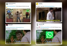WhatsApp New Policy Scares Netizens, Hilarious Filmy & OTT Memes Go Viral On Twitter