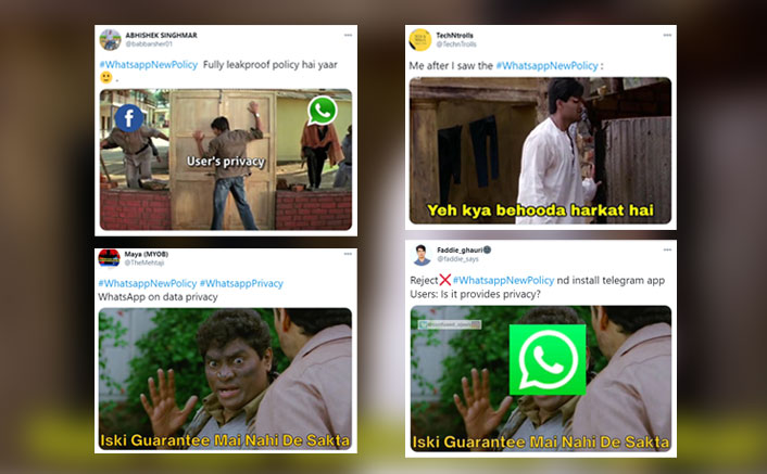 Netizens Are Going Crazy On Twitter With Funny WhatsApp New Policy Memes