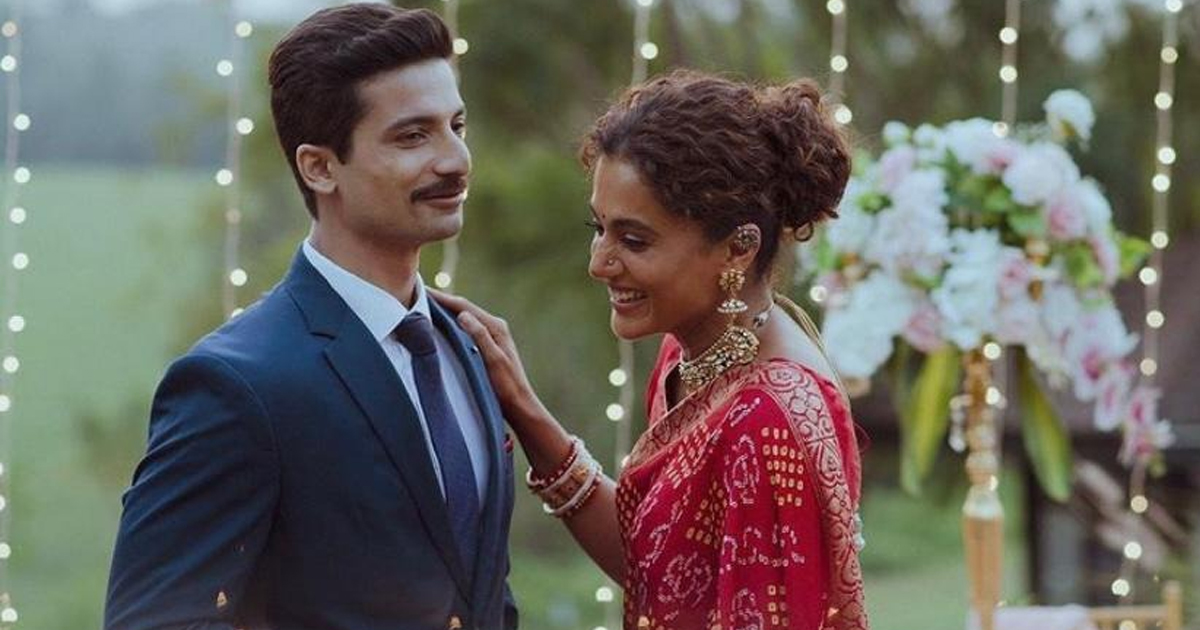 Priyanshu Painyuli looks dapper as an army officer in his first look still with Taapsee Pannu