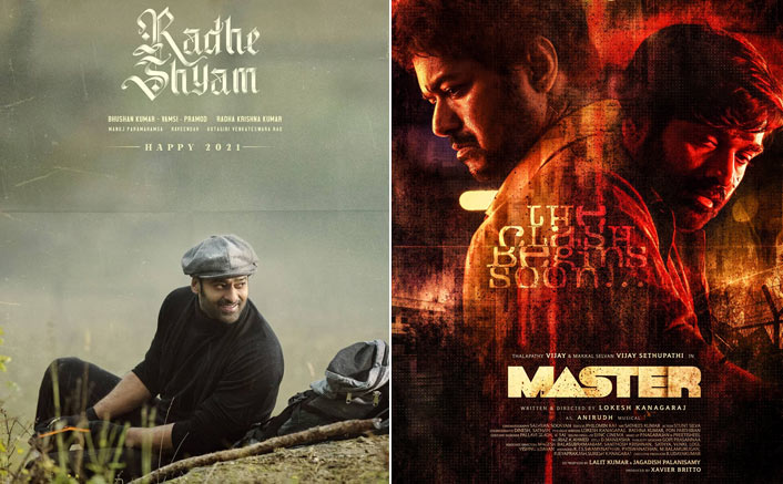 Radheshyam VS Master, Vijay & Vijay Sethupathi VS Prabhas: Which Poster Did You Like Better?