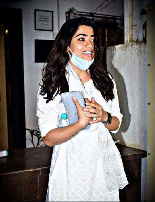 Rashmika Mandanna Spotted