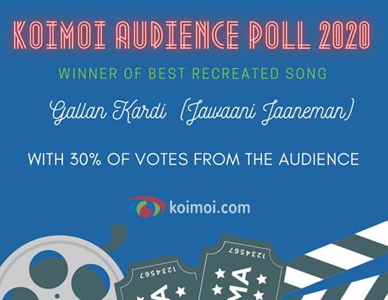 Result Of Koimoi Audience Poll 2020: Best Filmy Diva, Best Action Film & More