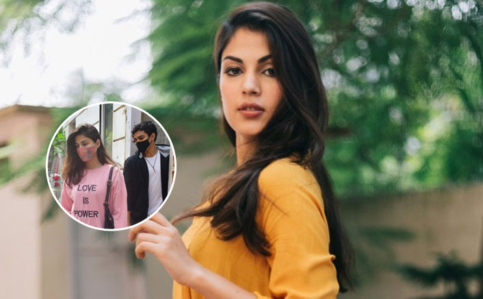 Rhea Chakraborty Papped In A Rare Outing, Watch