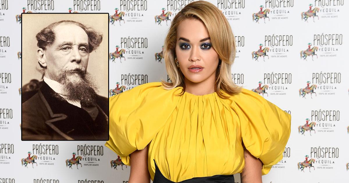 Rita Ora is a fan of Charles Dickens