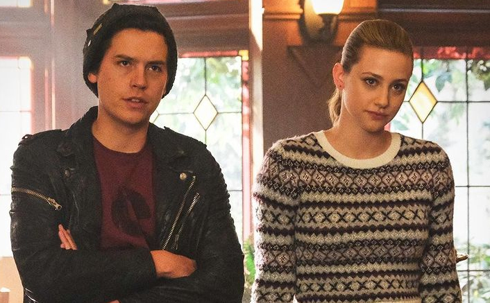Lili Reinhart & Cole Sprouse In A Still From Riverdale